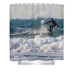 Surfers Paridise Shower Curtain by Brian Roscorla