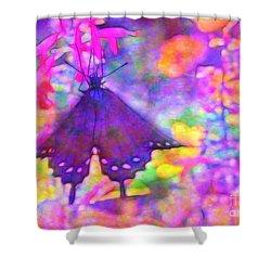 Swallowtail Shower Curtain by Judi Bagwell