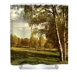 Swedish Landscape Shower Curtain