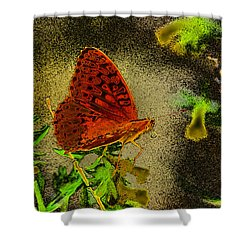 Sweet Afternoon Breeze Shower Curtain by Vicki Pelham