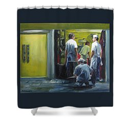 Sweet Closing Time Shower Curtain