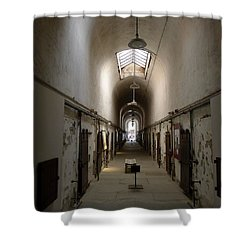 Sweet Home Penitentiary II Shower Curtain by Richard Reeve