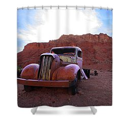 Shower Curtain featuring the photograph Sweet Ride by Susan Rovira