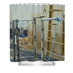 Sweet Sub Shower Curtain by Sharon Mau