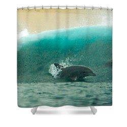 Swim Thru Shower Curtain