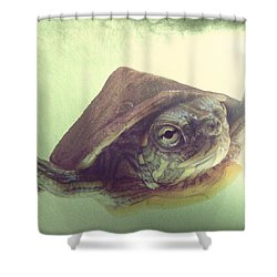 Swimming Lesson Shower Curtain