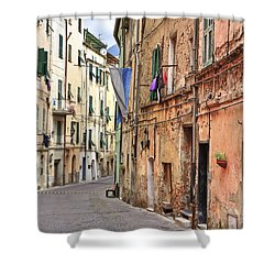 Taggia In Liguria Shower Curtain by Joana Kruse