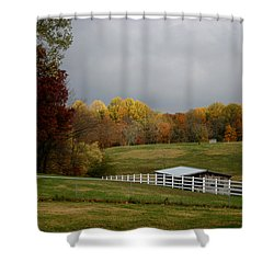 Shower Curtain featuring the photograph Take A Deep Breath by EricaMaxine  Price