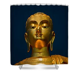 Tangsai Buddha Shower Curtain by Adrian Evans