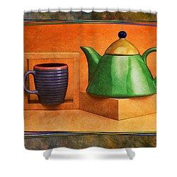 Tea  Shower Curtain by Mauro Celotti