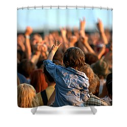 Teach Your Children Shower Curtain