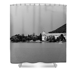 Tegernsee Shower Curtain by Ralf Kaiser