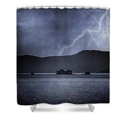 Tempest Shower Curtain by Joana Kruse
