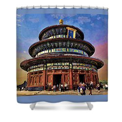 Temple Of Heaven - Beijing China Shower Curtain