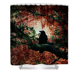 Tempting Fate Shower Curtain by Andrew Paranavitana