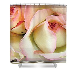 Tenderdly  Rose Shower Curtain