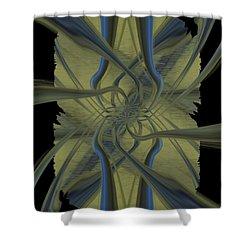 Tendrils Shower Curtain by Tim Allen
