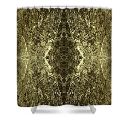 Tessellation No. 4 Shower Curtain by David Gordon