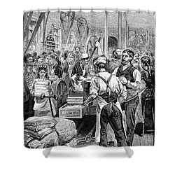 Textile Mill, 1881 Shower Curtain by Granger
