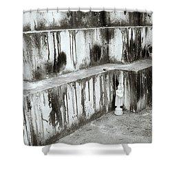 Texture Shower Curtain by Shaun Higson