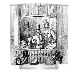 Thackeray: Newcomes, 1855 Shower Curtain by Granger