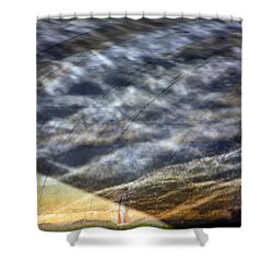 Thames Reflections Shower Curtain