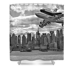 Thanks For The Show Shower Curtain by Susan Candelario