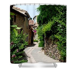 The Alley Shower Curtain