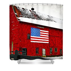 The American Dream Shower Curtain by Bill Cannon