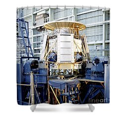 The Apollo Telescope Mount Undergoing Shower Curtain by Stocktrek Images