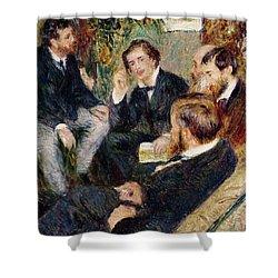 The Artist's Studio Rue Saint Georges Shower Curtain by Pierre Auguste Renoir
