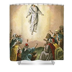The Ascension Shower Curtain by English School