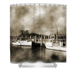 The Bayou Shower Curtain by Barry Jones