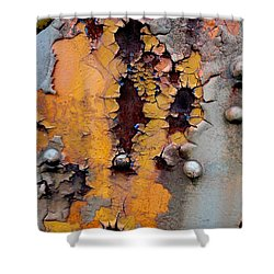 The Beauty Of Aging Shower Curtain by The Art With A Heart By Charlotte Phillips