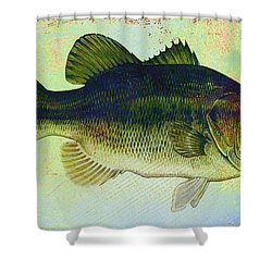 The Big Fish Shower Curtain by Bill Cannon