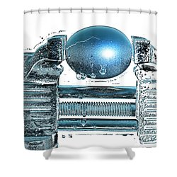 The Big Squeeze  Shower Curtain by Mauro Celotti
