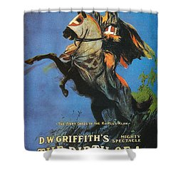 The Birth Of A Nation Shower Curtain by Georgia Fowler