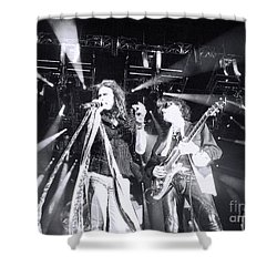 The Boyz Shower Curtain by Traci Cottingham