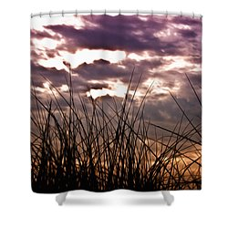 The Brewing Storm Shower Curtain by Bill Cannon