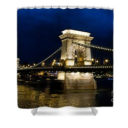 The Bridge Across Shower Curtain by Syed Aqueel