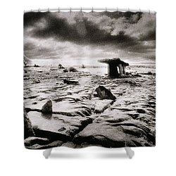 The Burren Shower Curtain by Simon Marsden