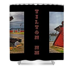 The Caboose Shower Curtain by Joann Vitali