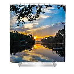 The Calm Place Shower Curtain