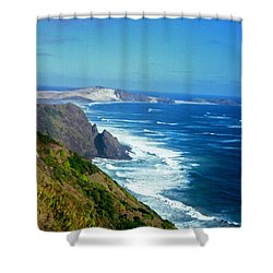 The Cape Shower Curtain