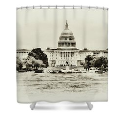 The Capital Bulding Shower Curtain by Bill Cannon