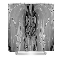 The Cave Dweller Shower Curtain by Maria Urso