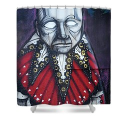 The Chief Shower Curtain by Bob Christopher