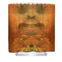 The Coronation Shower Curtain by Christopher Gaston
