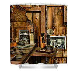 The Dentist Office Shower Curtain by Paul Ward