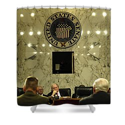 The Department Of Defense Address Shower Curtain by Stocktrek Images